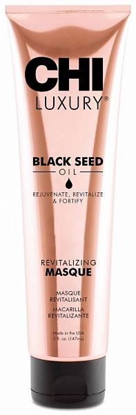 CHI Luxury Маска для волос оживляющая  с маслом семян чёрного тмина