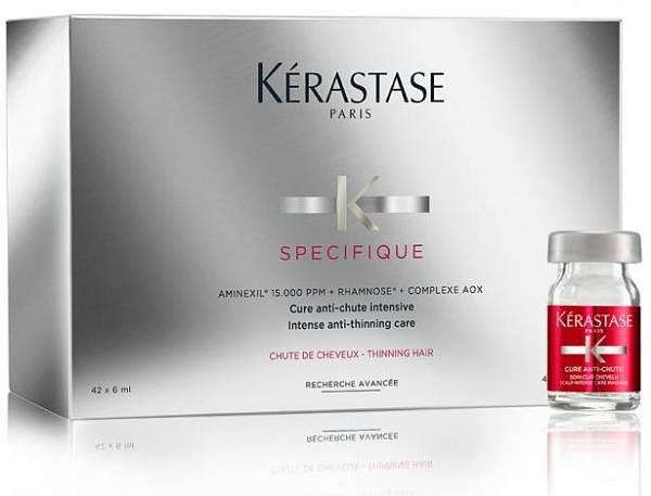 Kerastase Specifique Аминексил ампулы против выпадения волос