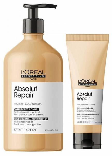 Loreal Absolut Repair Lipidium Смываемый уход глубокого для восстановления волос Gold