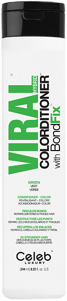 Celeb Viral Кондиционер тонирующий Зеленый
