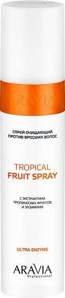 Aravia Professional Спрей очищающий против вросших волос с экстрактами тропических фруктов и энзимами