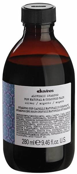 Davines Alchemic Шампунь для натуральных и окрашенных волос (серебряный)