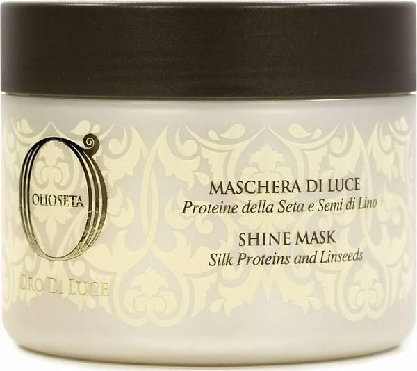 Barex Olioseta Oro Di Luce Маска-блеск с протеинами шелка и семенем льна