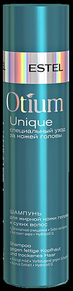 Estel Otium Unique Шампунь для жирной кожи головы и сухих волос