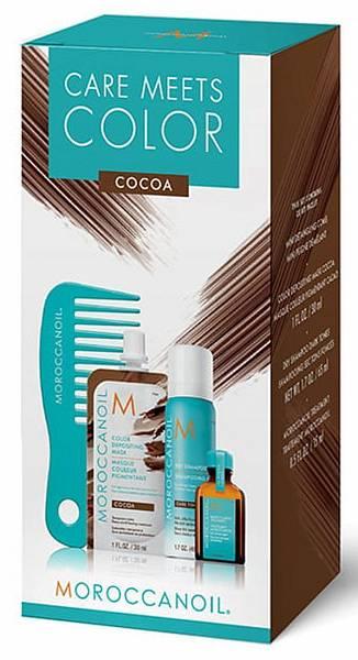 Moroccanoil Дорожный набор Color meets Care Cocoa
