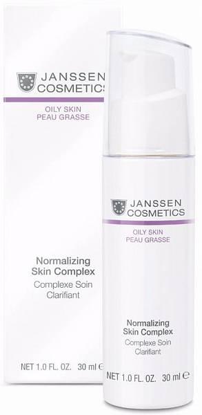 Janssen Oily skin Нормализующий концентрат для жирной кожи Normalizing Skin Complex