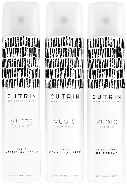 Cutrin MUOTO Лак для волос Hairspray