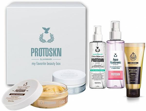 Protokeratin ProtoSKN Набор ProtoSKN для тела №4