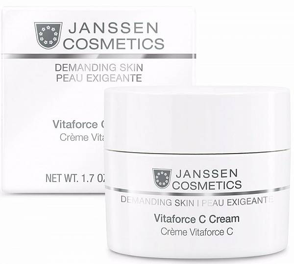 Janssen Demanding Skin Регенерирующий крем с витамином С Vitaforce