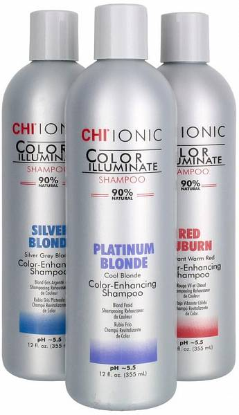 CHI Ionic Color Illuminate Оттеночный шампунь