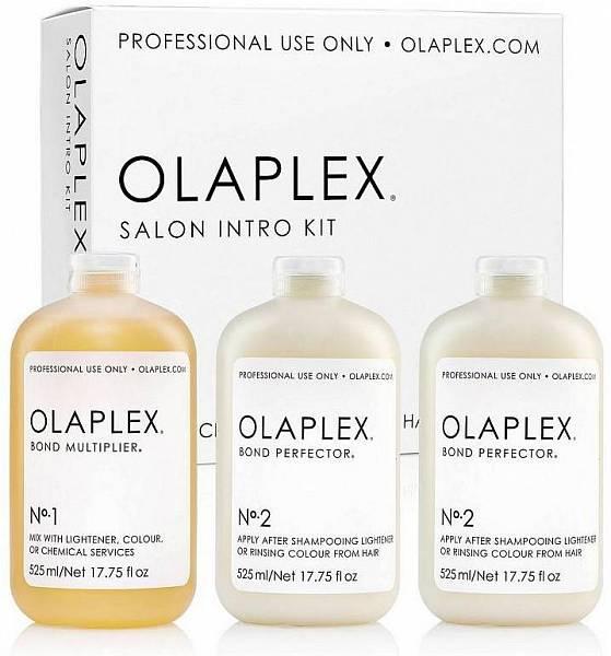 Olaplex Набор салона: Концентрат-защита No1 + Коктейль-фиксатор No2 525мл