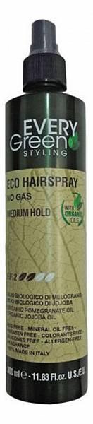 Dikson Everygreen Экологический лак-спрей без газа средней фиксации