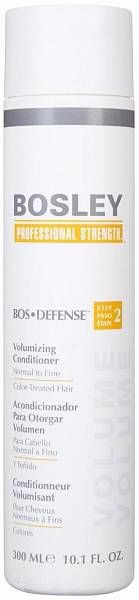 Bosley Defense Кондиционер для объема нормальных/тонких окрашенных волос