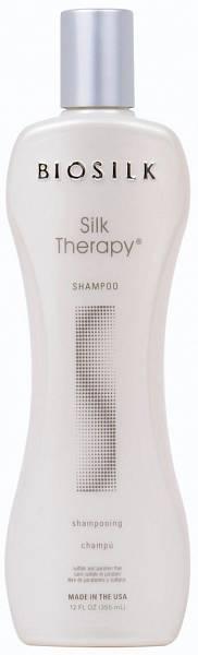 Biosilk Silk Therapy Шампунь шёлковая терапия