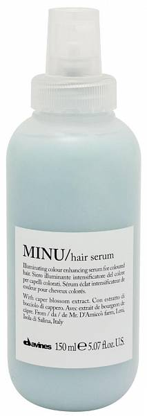Davines Essential Несмываемая сыворотка для окрашенных волос MINU