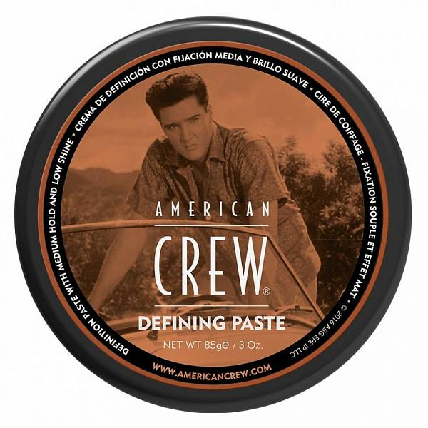 American Crew Elvis Presley Паста со средней фиксацией и King Defining Paste
