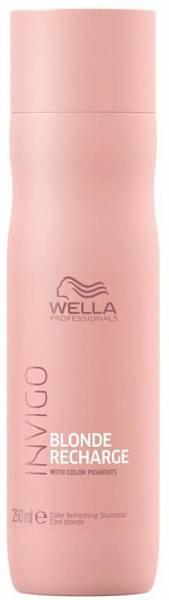 Wella Invigo Blonde Recharge Шампунь-нейтрализатор желтизны для холодных светлых оттенков
