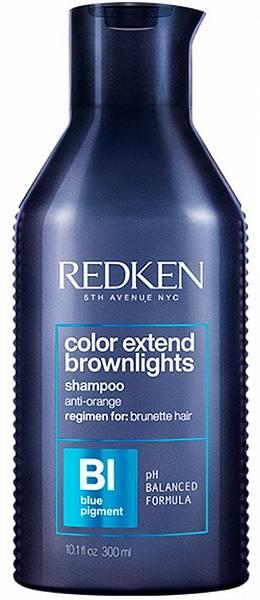Redken Color Extend Brownlights Шампунь с синим пигментом для тёмных волос