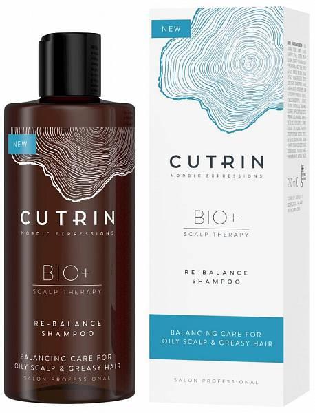 Cutrin Bio+ Re-Balance Шампунь для жирной кожи головы