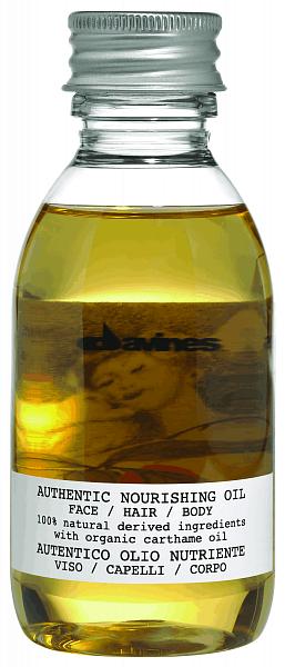 Davines Authentic Питательное масло для лица - волос - тела