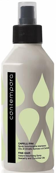 Barex Contempora Спрей для мгновенного объема с маслом облепихи и огуречным маслом
