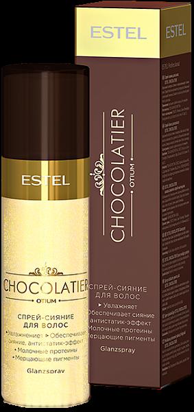 Estel Otium Chocolatier Спрей-сияние для волос