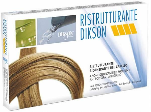 Dikson Ristrutturante Ампулы для очень поврежденных и сухих волос